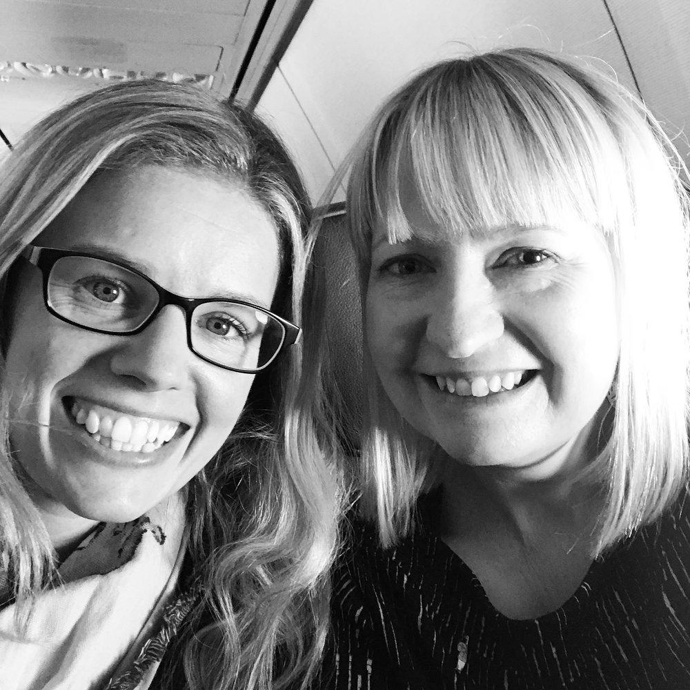 Melbourne-bound with Victoria Mckinlay