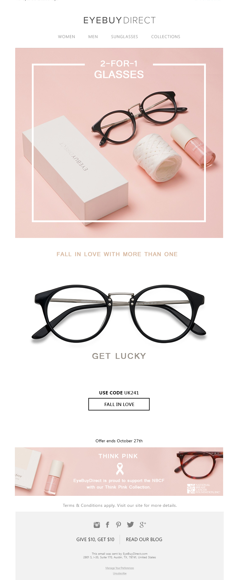 Pink Friday Promotion