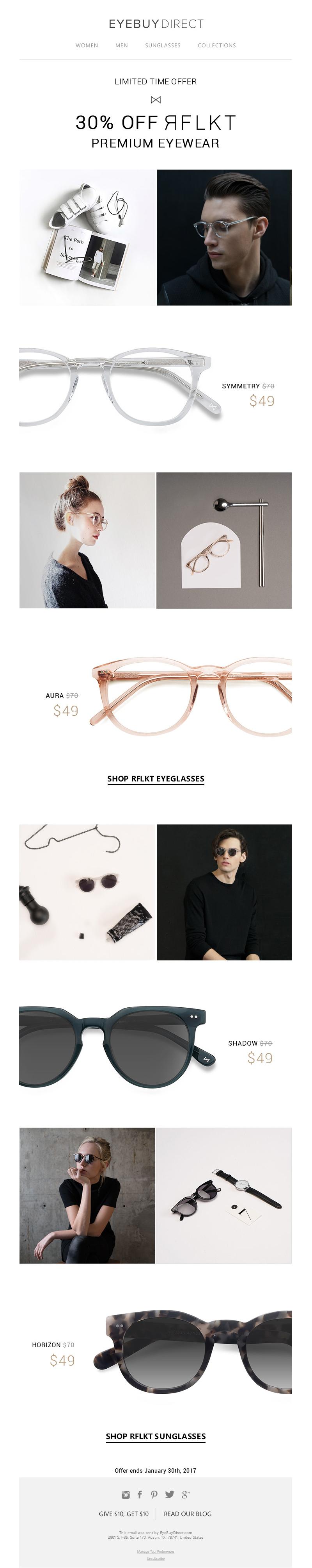 RFLKT Premium Eyewear Sale