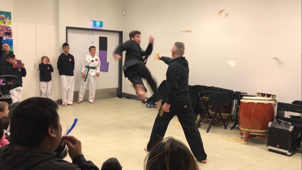 Adam Meyers of Story Martial Arts