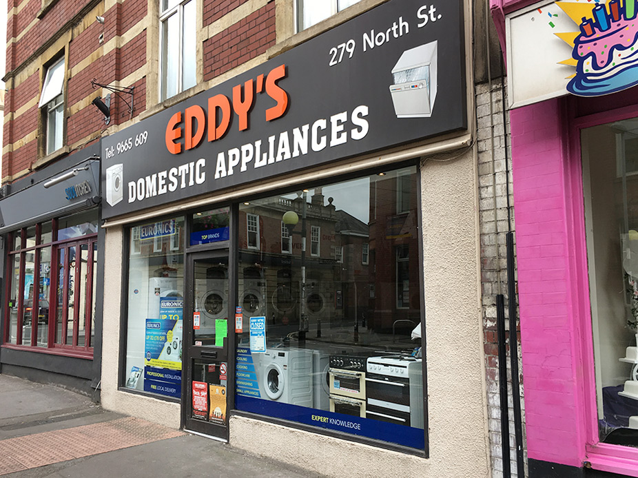 279 North Street, Bedminster, Bristol, BS3 1JP. Tel  0117 966 5609