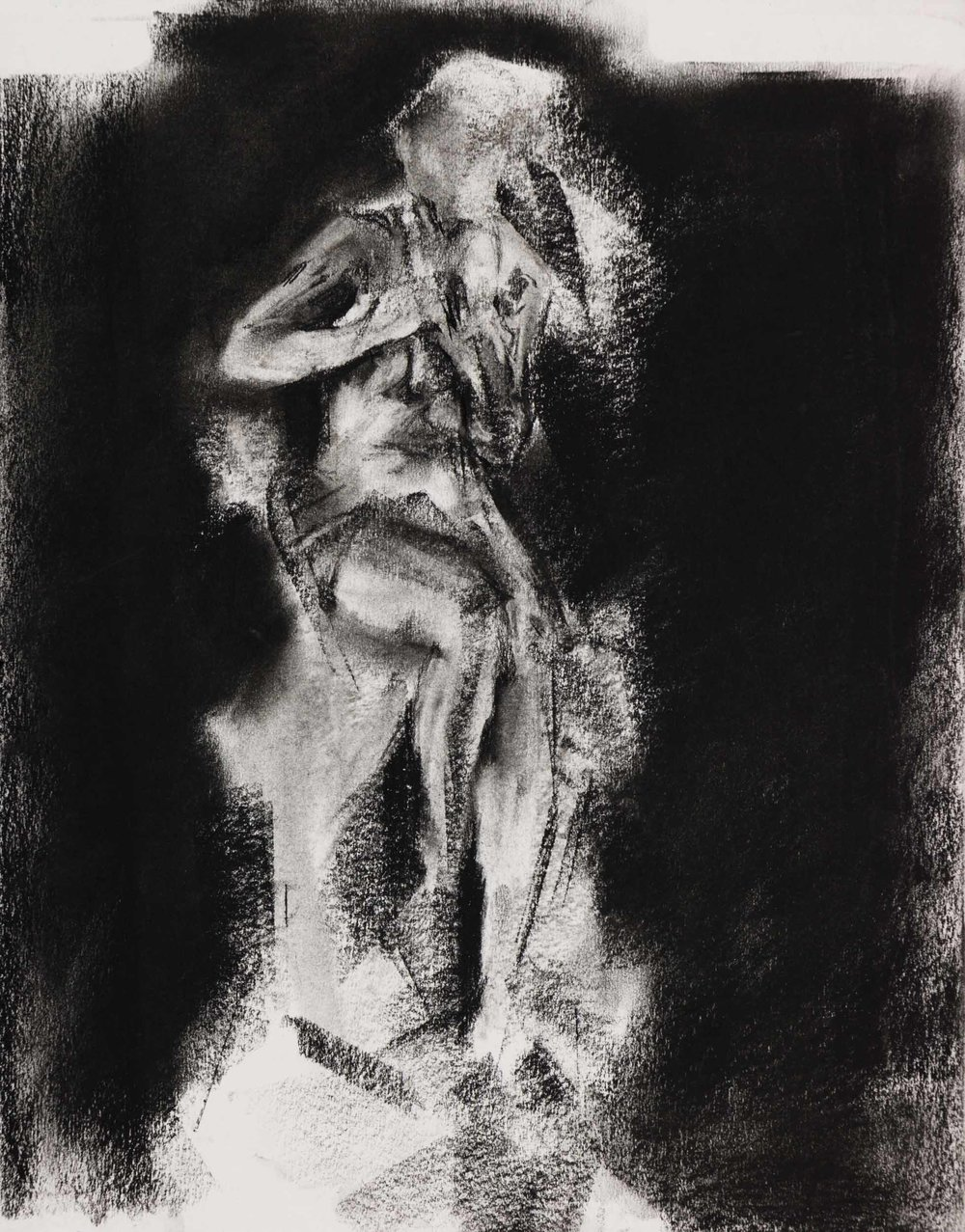 Sketch Study of Albert-Ernest Carrier-Belleuse's Chryselephantine