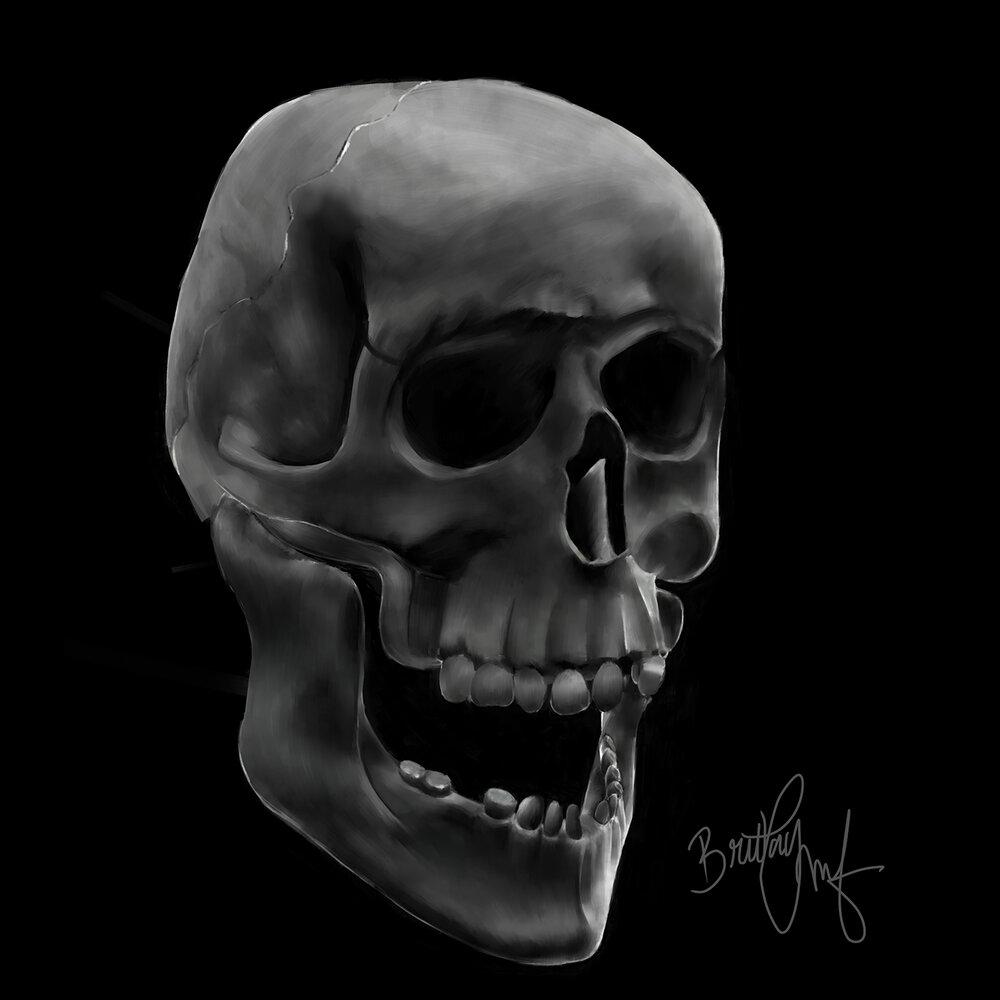 ArtVibes - Skull