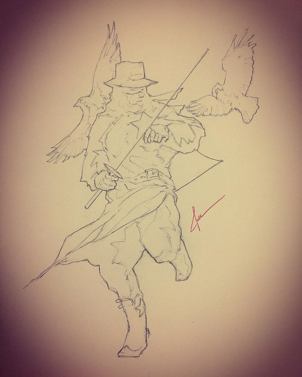azhefra - Sheriff Crow