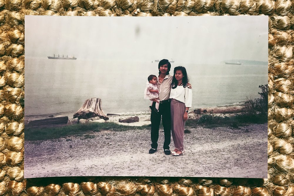 BB Kimm with her Aunt and Uncle. (I think)