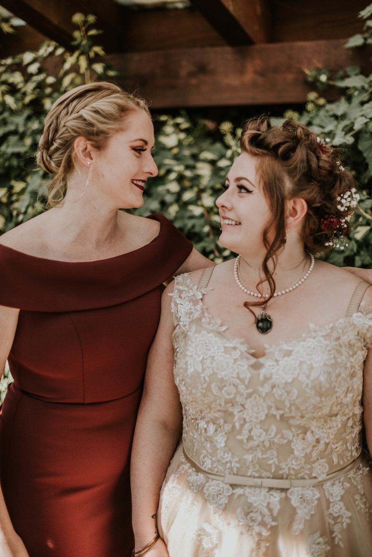 Bride & Sister