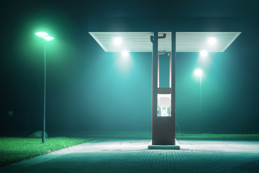 urban photography at night by Andreas Levers