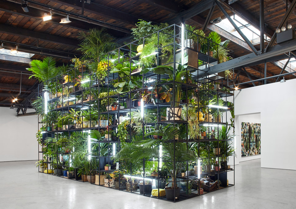 Rashid Johnson modern art installation