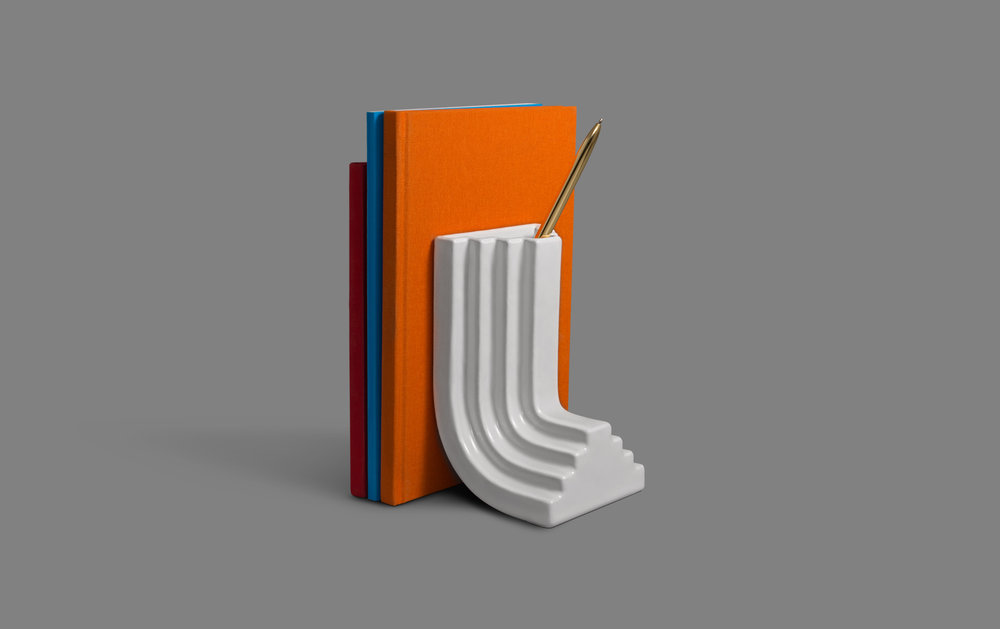 Carlo Bookend by  Ini Archibong