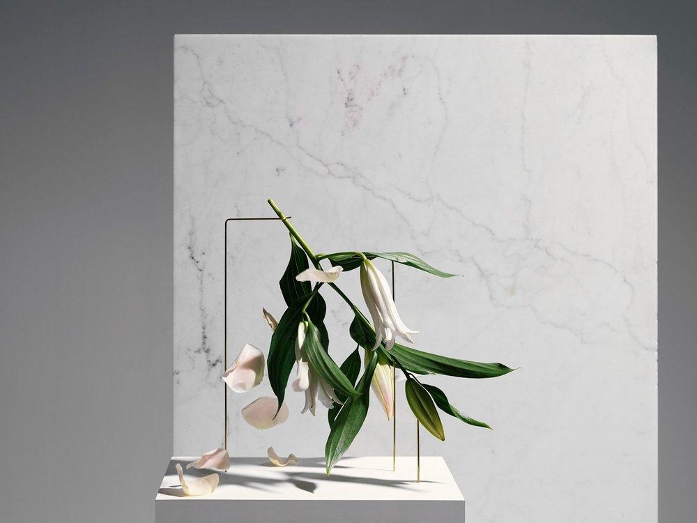 Flower design by Carl Kleiner