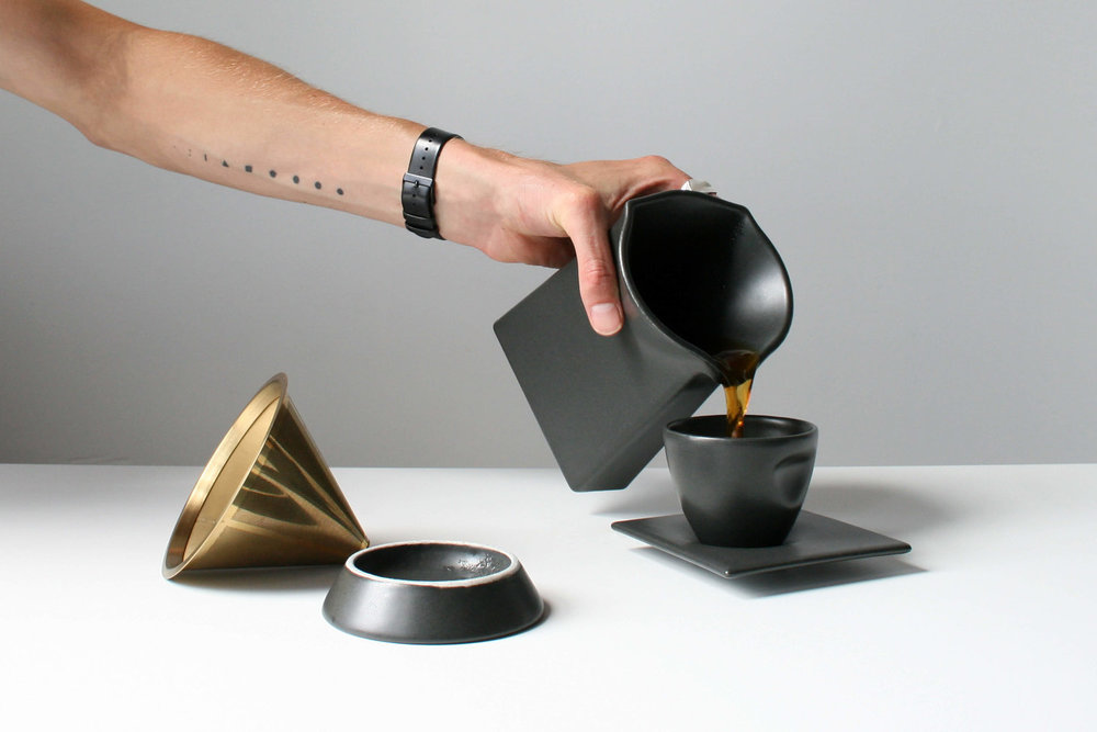 coffe home brewing set by kamp studio