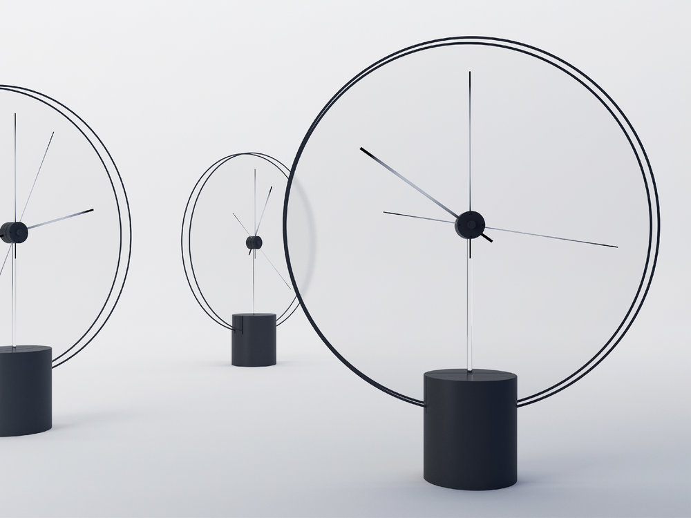 Minimal clock design by  Yicong Lu
