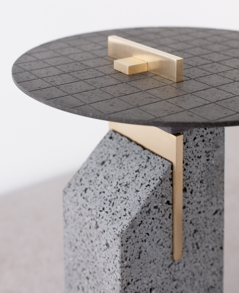 Detail of the coffee table by formafantasma