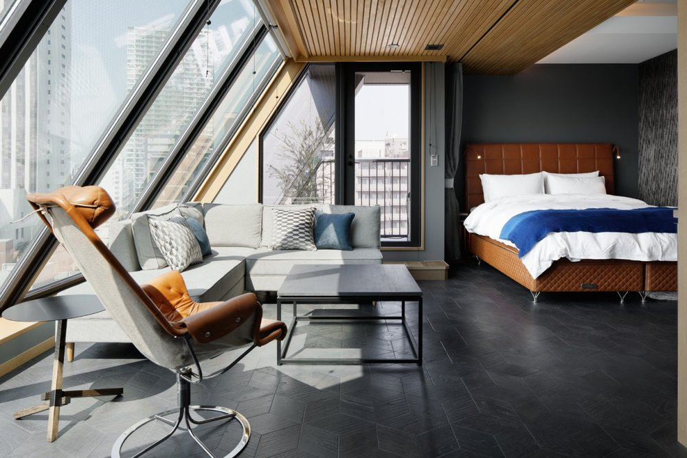Suite at Wired Hotel in Tokyo