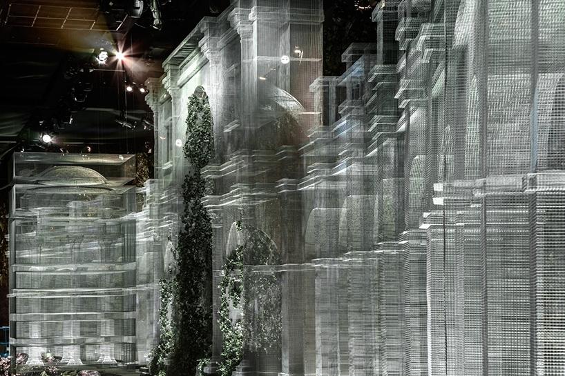 Edoardo Tresoldi scenographic interior design