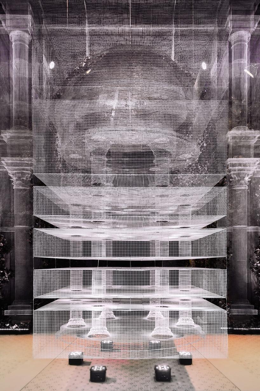 Edoardo Tresoldi architectural installation design