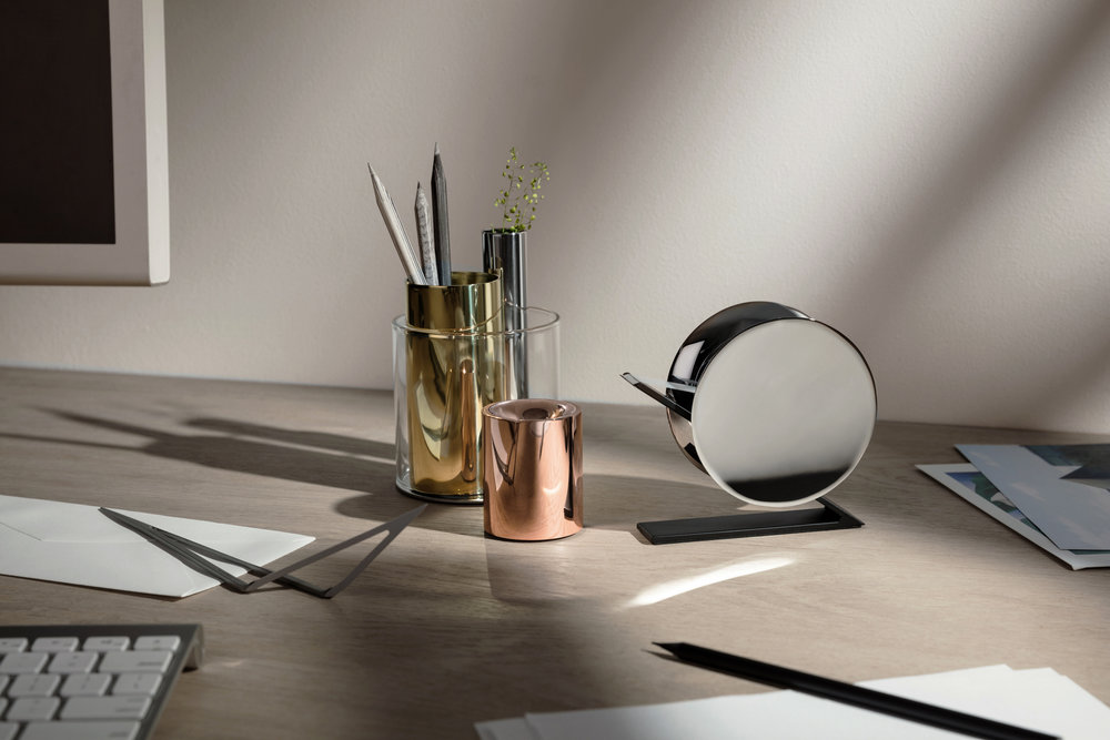 "Desktop Collection - ""Inspired by the sculptural and architectural languages."""