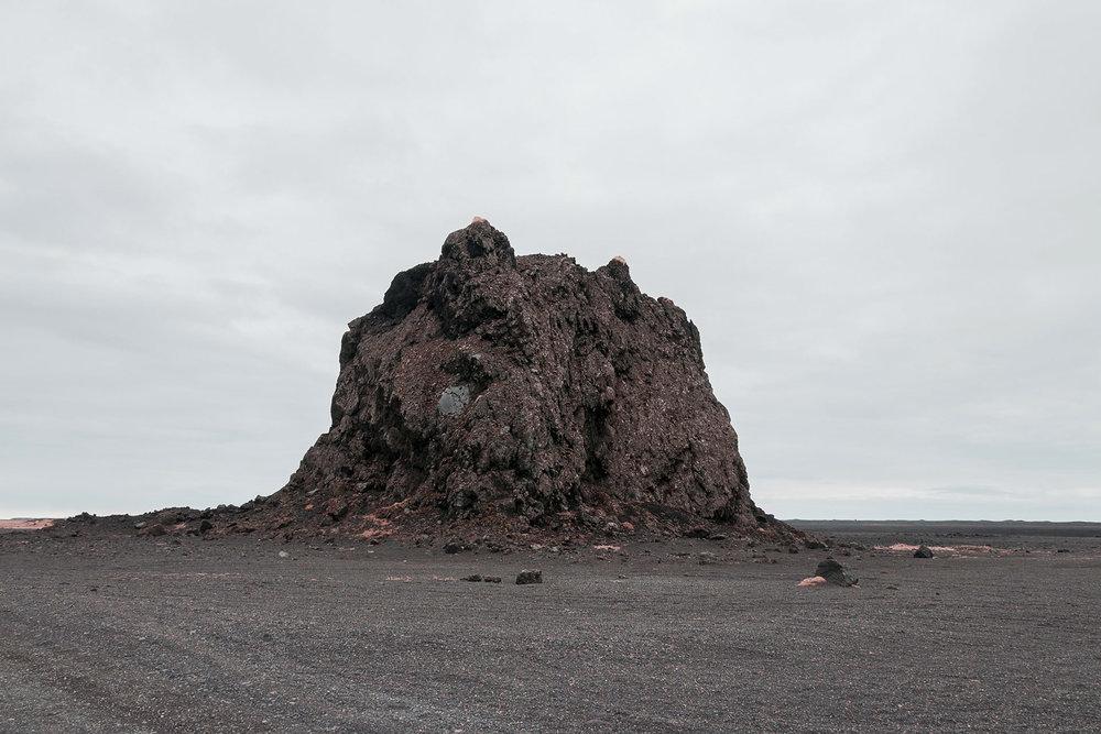 Picture of a lunar scenario by Øystein Aspelund in Norway