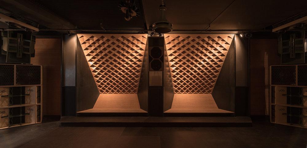 Nightclub interior design by Studio Knack