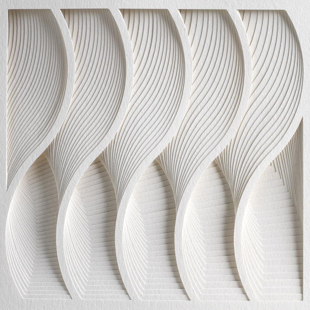 Geometric 2D dinamic art