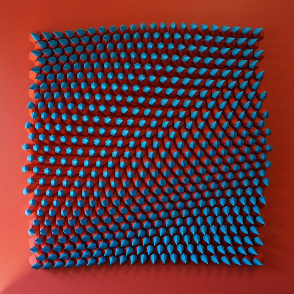 3D art sculpture by Matthew Shlian