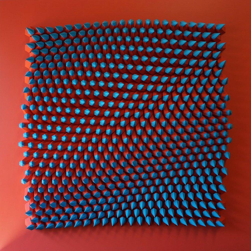 3D art sculpture by Matthew Shlian