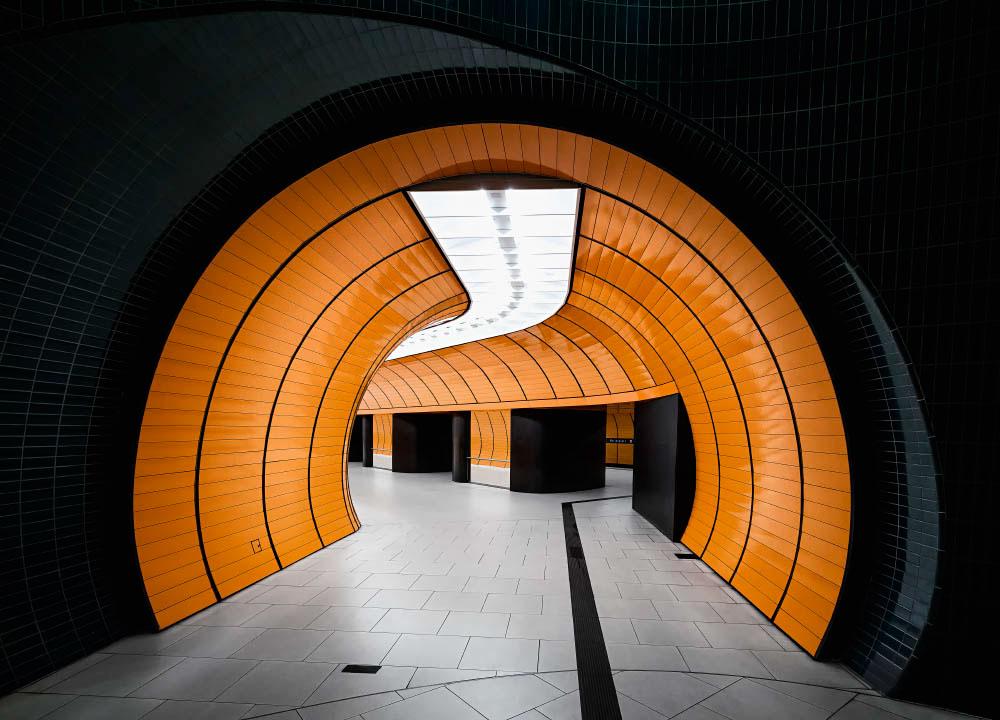 Nick Frank photography of subways