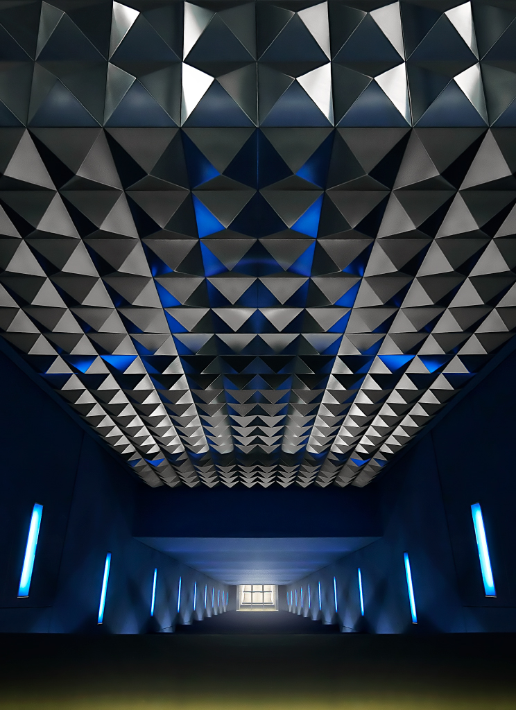 Architecture photography of subway station