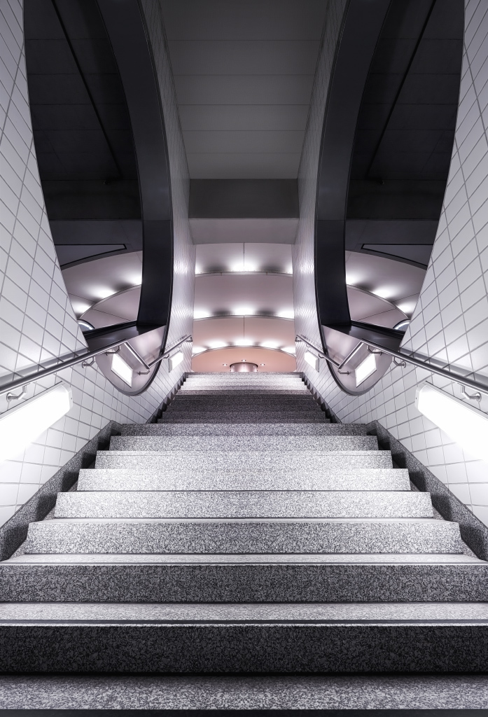 Staircase in perspective