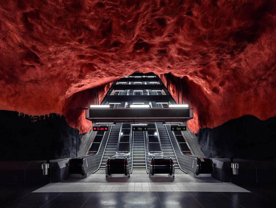 Underground subway photography