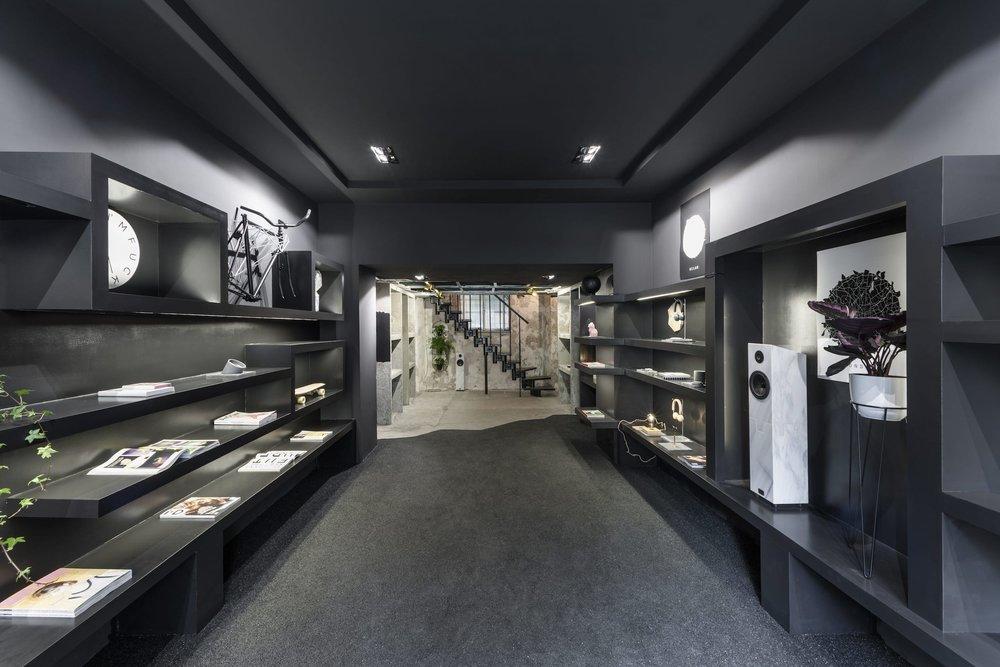 Interior architecture studio for retail, Milan