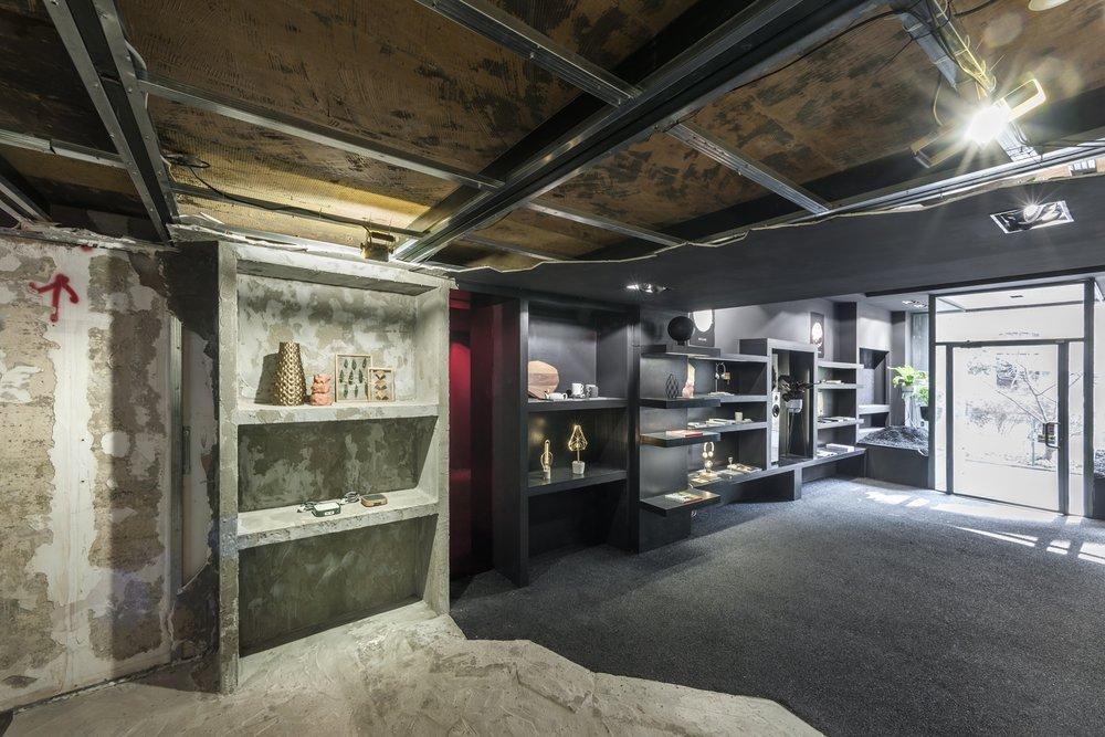 Retail design studio in Milan