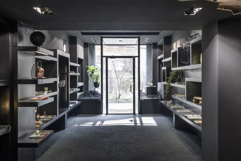Milan based store design studio