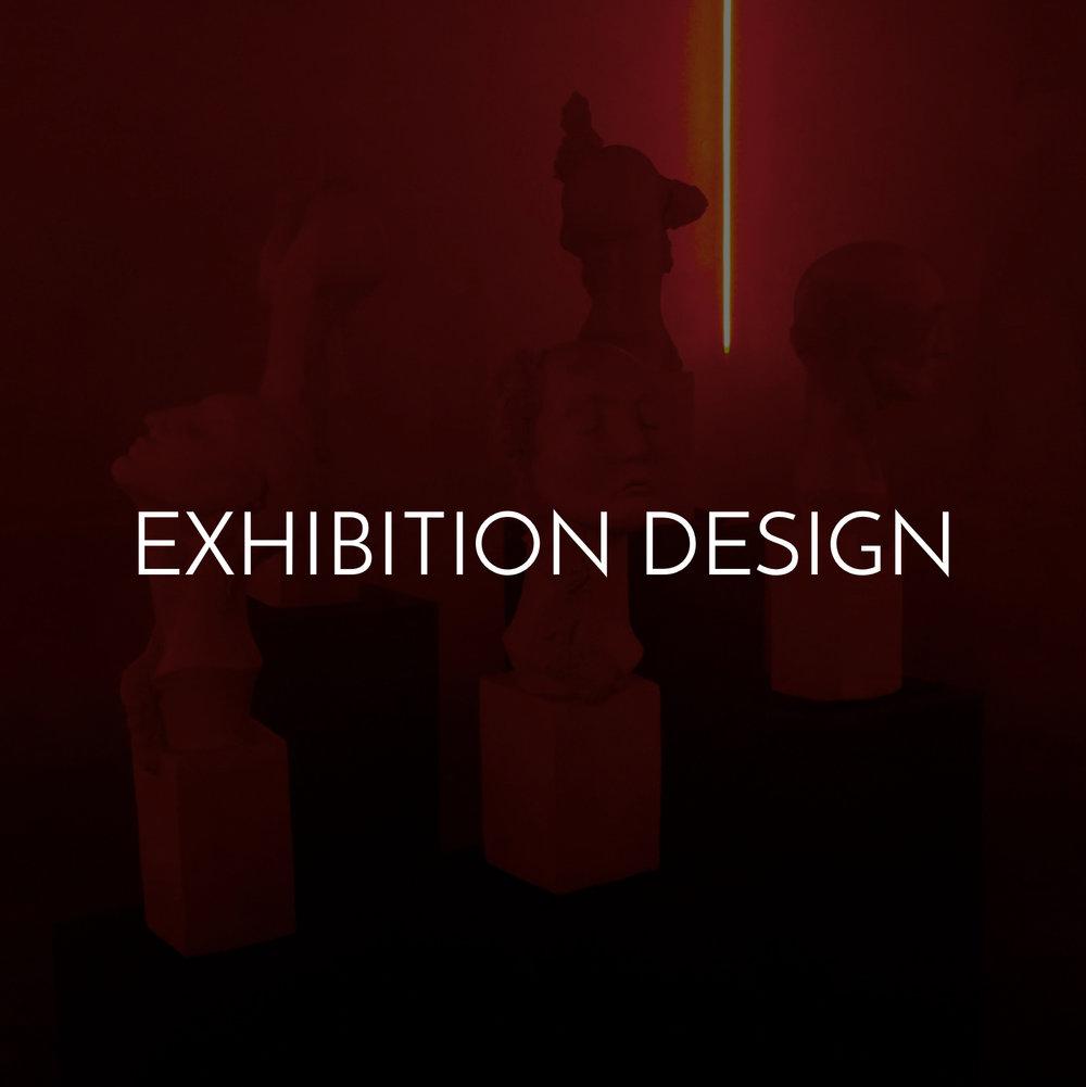 Exhibition design and installations by Haigo Studio in Milan