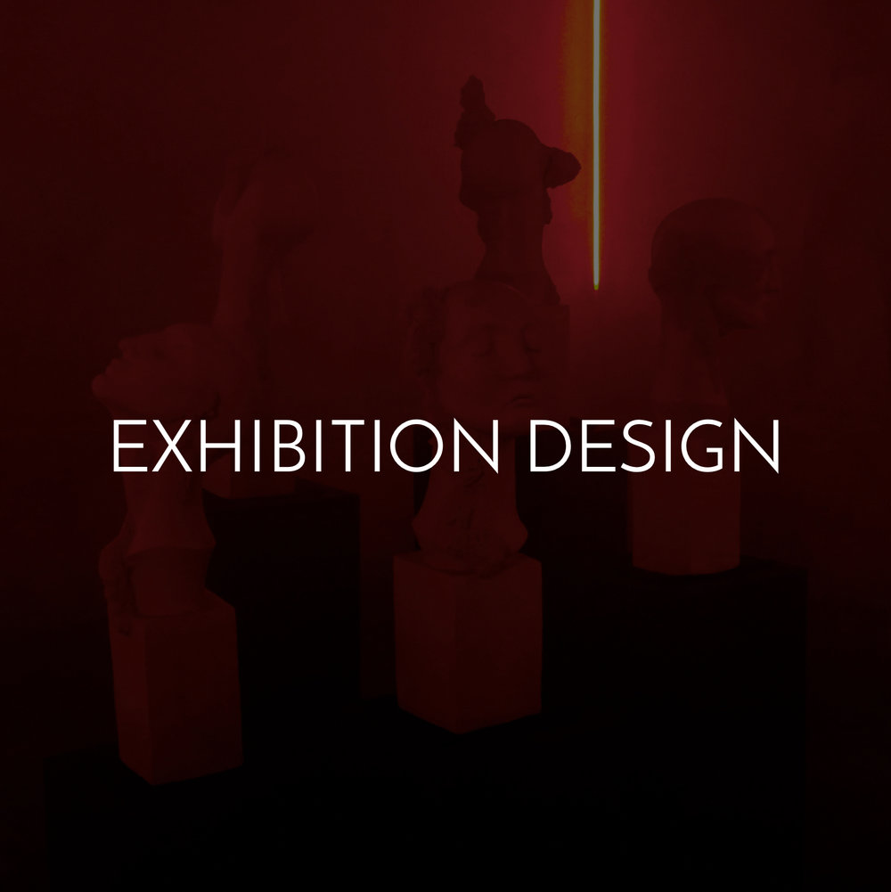 exhibition design and immersive installation projects