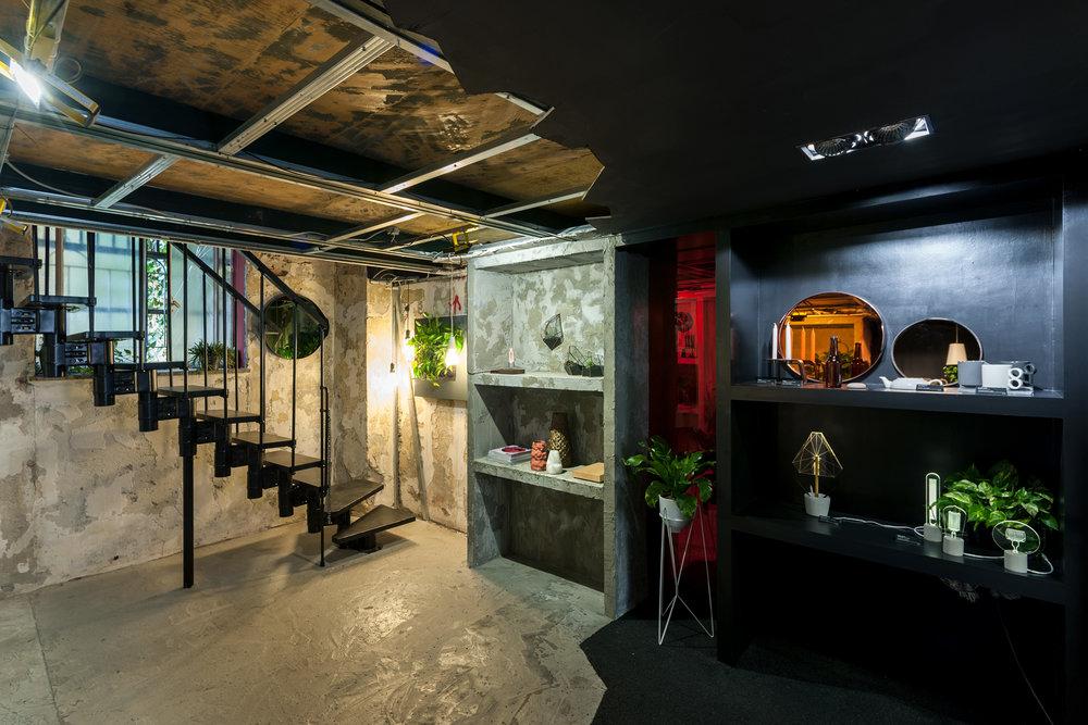 Haigō design concept store in chinatown Milan