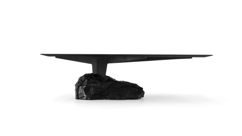 the 2.6 meter long dining table by EWE based in mexico