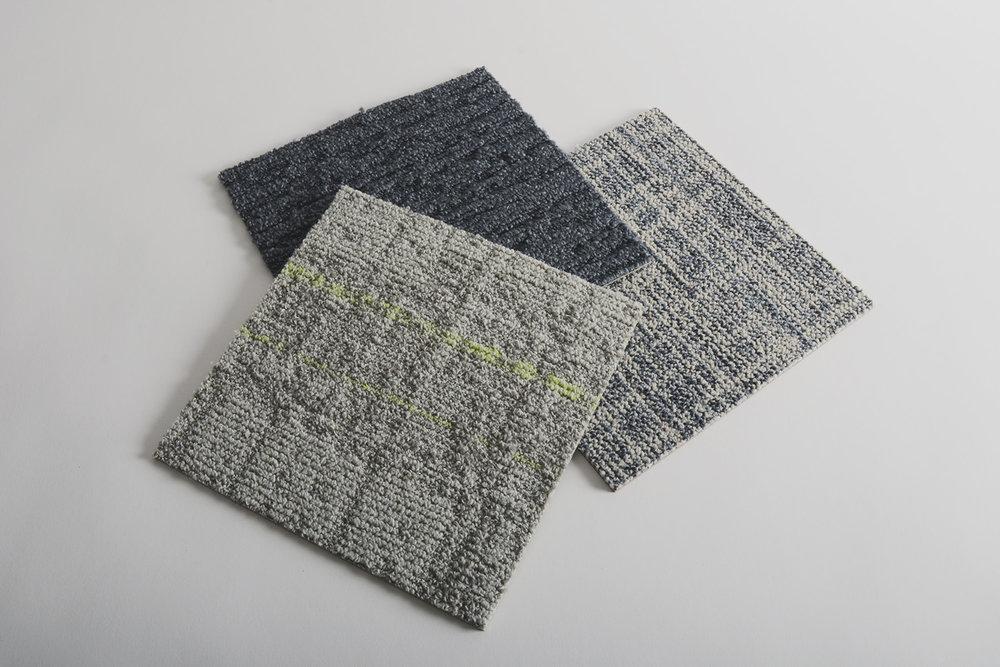 由 Interface 生产的地毯