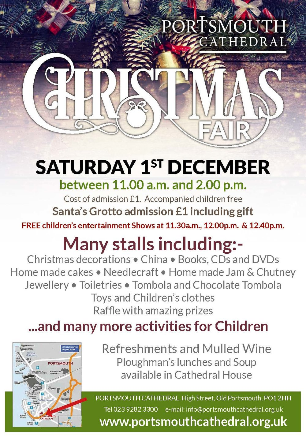 Christmas Fair — Portsmouth Cathedral