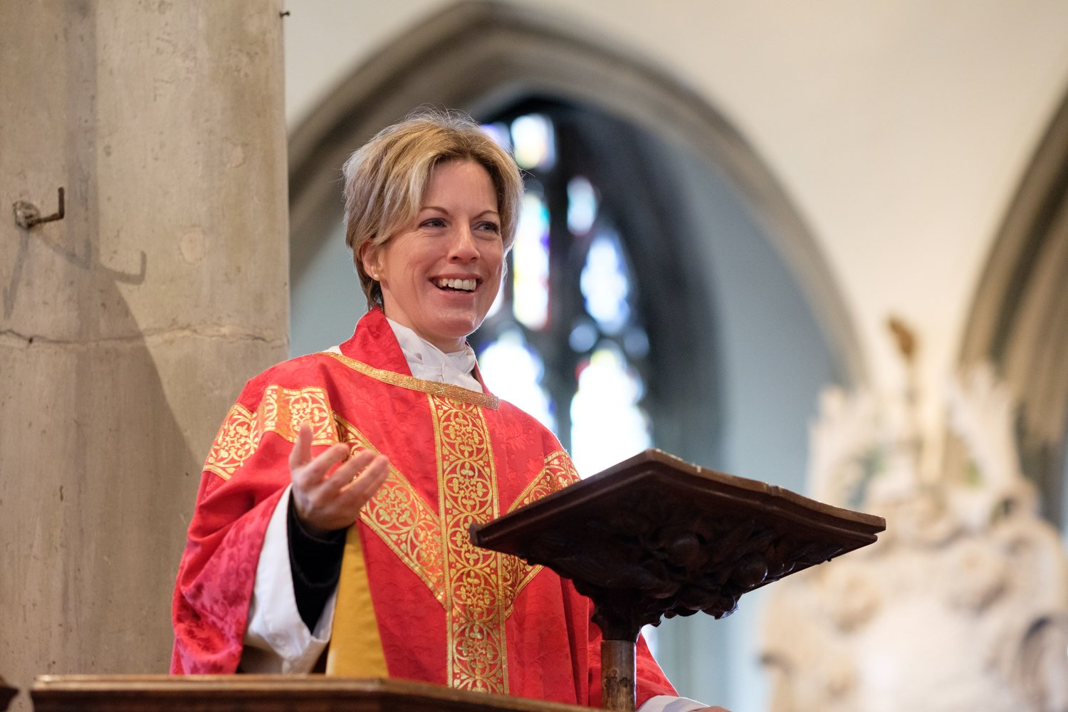Our New Canon Chancellor and Vice Dean: Kathryn Percival