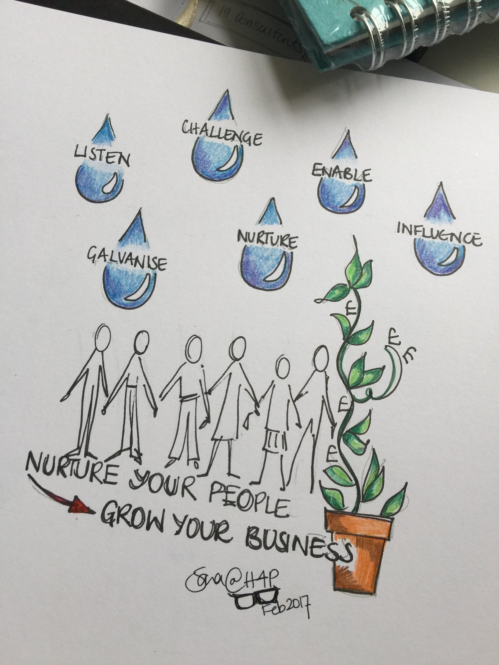 Nurture and grow your team