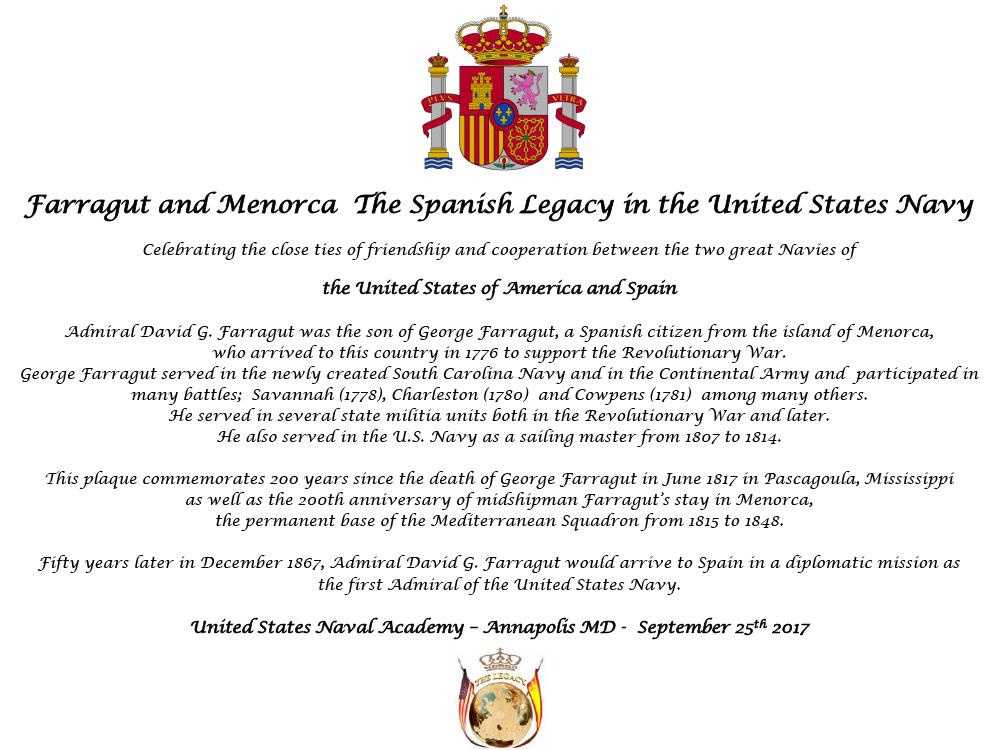 placa con escudo ancional y The   legacy.jpg
