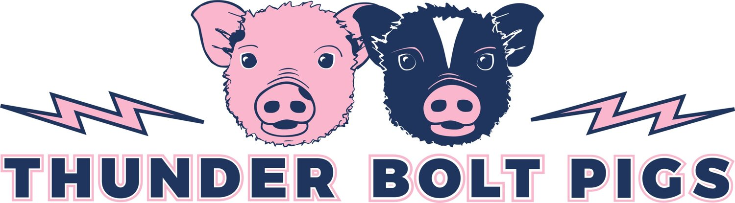 Thunder Bolt Pigs