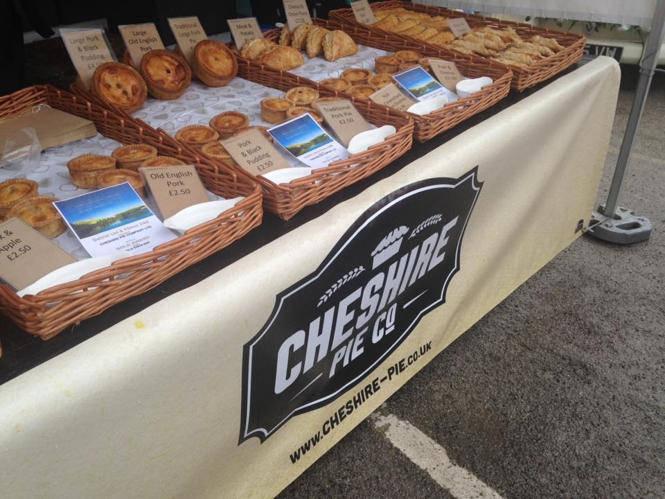 Cheshire Pie Co. - Location: Outdoor MarketTrading: ThursdayContact: kevin.pearce5@btopenworld.comPhone: 07811 184851Or visit my Facebook page