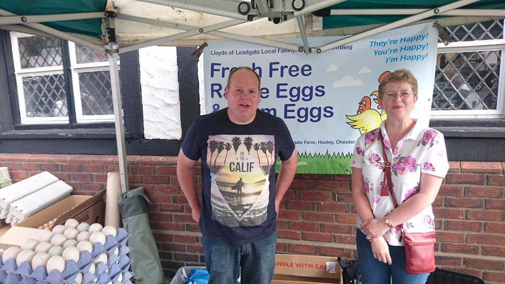 Lloyds of Leadgate - Location: Outdoor MarketTrading: ThursdayContact: 01829 781376Fresh free range eggs and farm eggs, including duck, goose and quail.