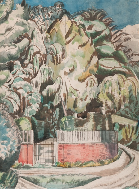 Paul Nash (1889-1946)  The Corner  1919. © Jerwood Collection.