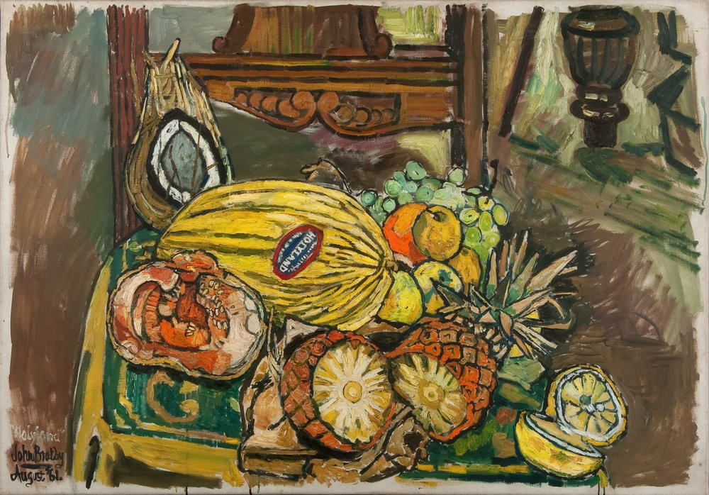 John Bratby: Everything but the kitchen sink including the kitchen ...
