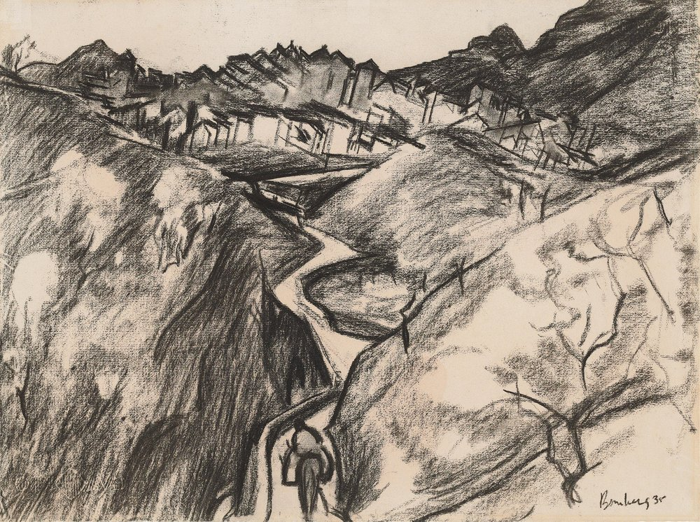 David Bomberg (1890-1957)  Alora, Andalucia  1935, Jerwood Collection. © The Estate of David Bomberg. All Rights Reserved, DACS 2017.