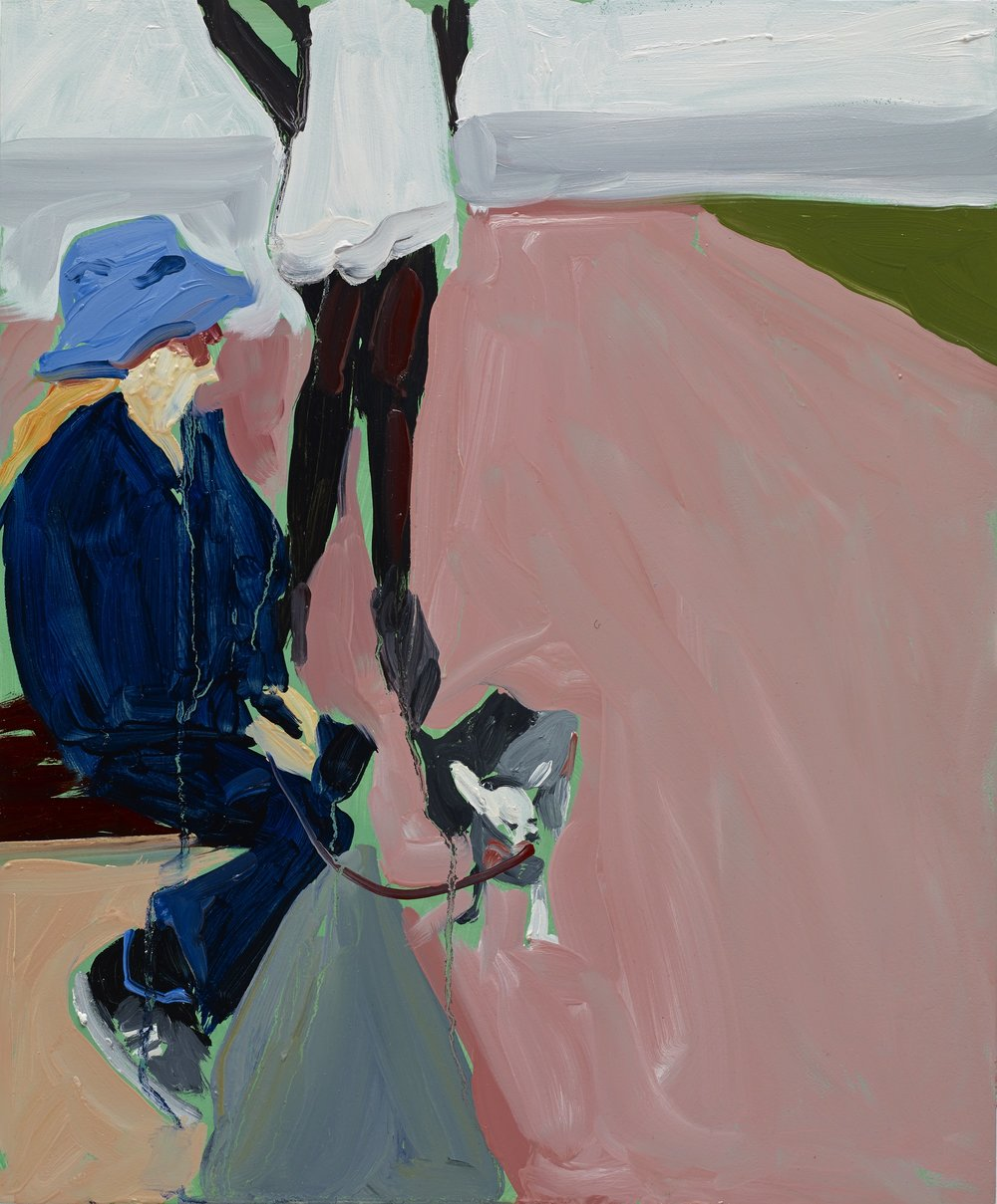 Chantal Joffe RA (b. 1969)  Pinky  2014, Jerwood Collection. © Chantal Joffe. Courtesy the Artist and Victoria Miro, London (Photography Stephen White)