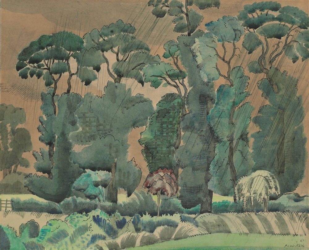 Paul Nash (1889-1946) Spring Landscape 1914, © Jerwood Collection